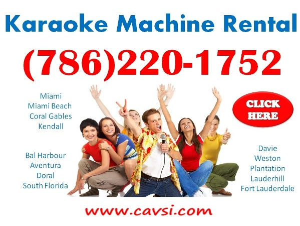 Karaoke Rental Wellington FL